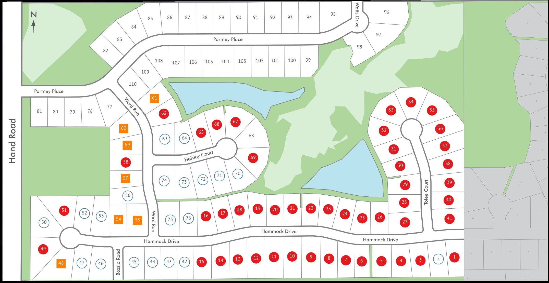 Preserves Of Carroll Creek West Map