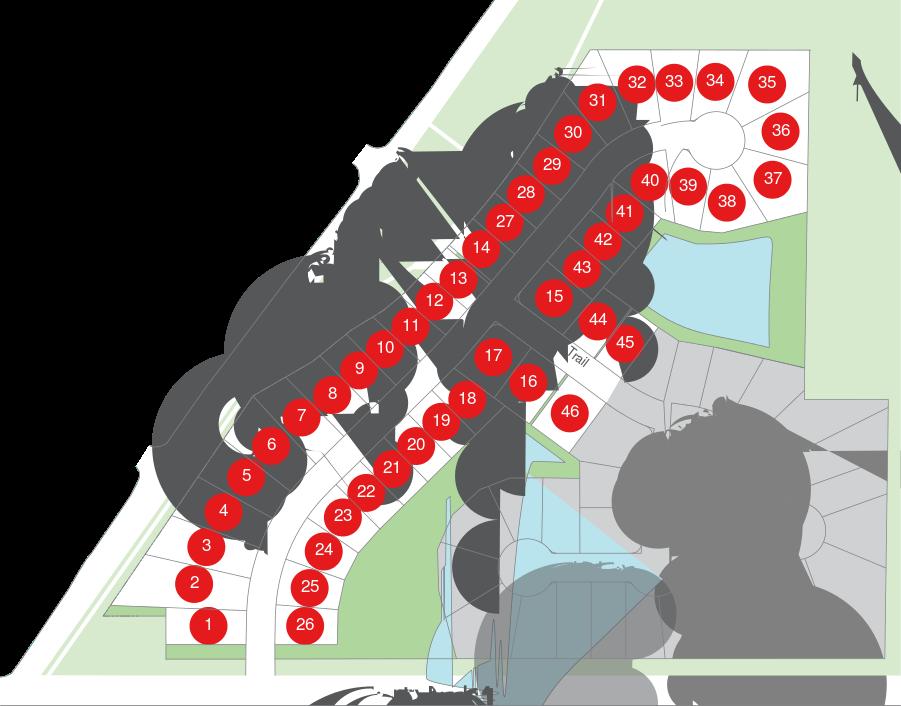 Fawn Creek Estates Map