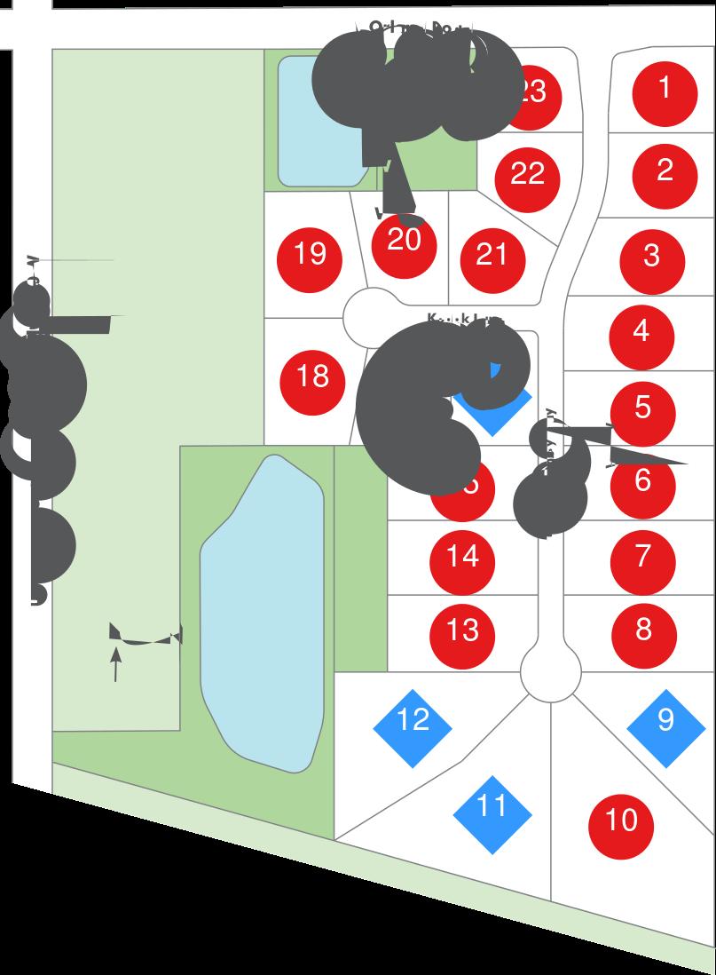 Sycamore Glen Map